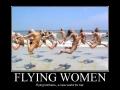 Flying Women