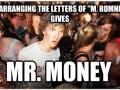 Mitt Romney's name