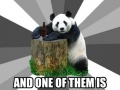 Pick up line panda