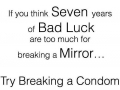 7 years bad luck