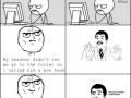 Standing up to a teacher