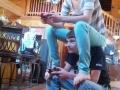 Playing split screen