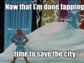 Time to save the city