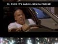 It's Sarah Jessica Parker!