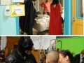 Batman visiting kids