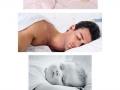 Everyone sleeps cute