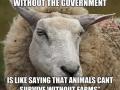 Thus sheep spoke