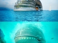 Underwater hotel in China