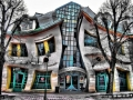 Krzywy Domek in Poland