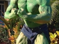 The Rock as Hulk