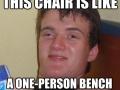 10 guy takes a seat