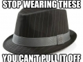 People with these hats