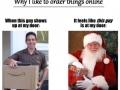 Joys of ordering online