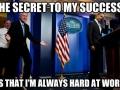 Bill sharing his wisdom