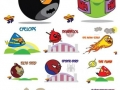 Marvel/DC Angry Birds