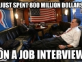 Most expensive interview
