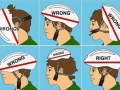 How to wear a helmet