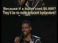 Chris Rock on Gun Control