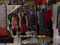 Buying new clothes