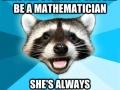 Kristen should teach math