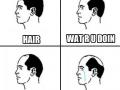 Hair.. why?!