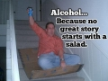 Alcohol..