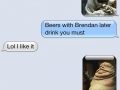 Getting my buddy to the bar