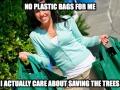 Scumbag 'environmentalist'