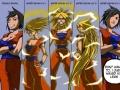 Super Saiyan Girl