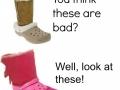 Horrid shoes!