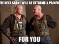 The next scene will be..