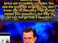 Brilliant Stephen Colbert