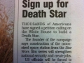 Sign up for Death Star