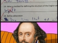 Shakespeare lvl: Over 9000!