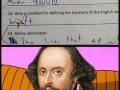 Shakespeare lvl: Over 9000!