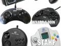 Evolution of SEGA Controllers