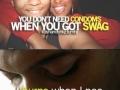 C0ndoms or swag?
