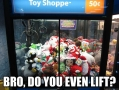 On the claw machine