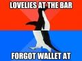 Awkward bar moments