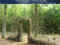 Gravity-defying sculptures