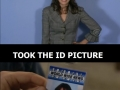 ID picture being ID picture