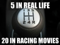 In every racing movie