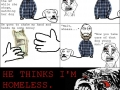 Homeless or Hipster?