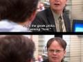 Oh, Dwight..
