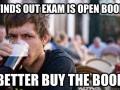 Open book exam