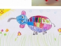 Kids' drawings as dolls