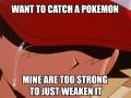 Pokemon trainer problem