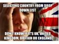 British 1st World Problems