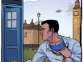 Superman runs into the Doctor