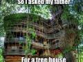 Dad's an engineer